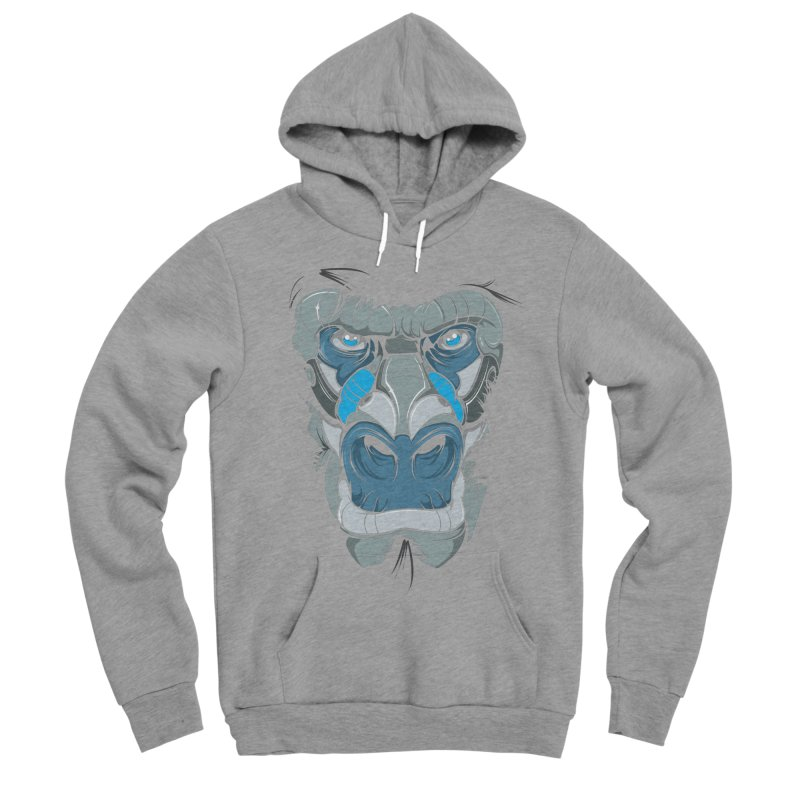 Hydro74 Old School Ape Women's Sponge Fleece Pullover Hoody by HYDRO74