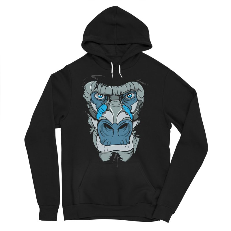 Hydro74 Old School Ape Men's Sponge Fleece Pullover Hoody by HYDRO74