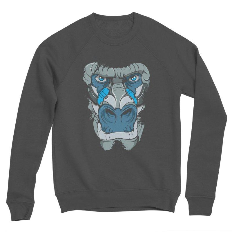 Hydro74 Old School Ape Men's Sponge Fleece Sweatshirt by HYDRO74