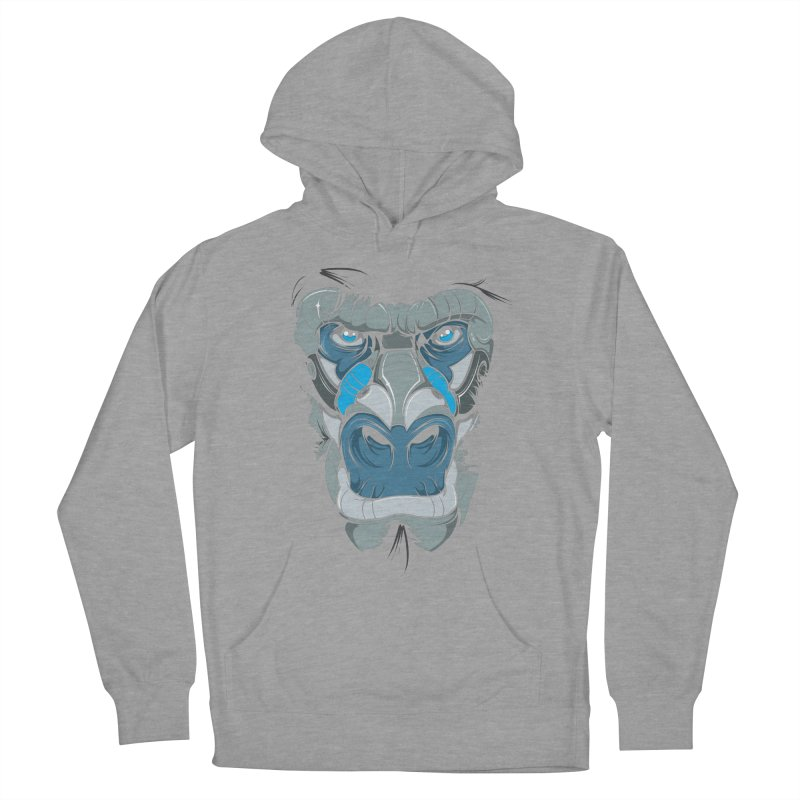 Hydro74 Old School Ape Men's French Terry Pullover Hoody by HYDRO74