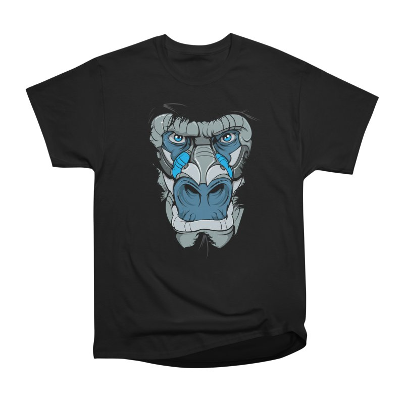 Hydro74 Old School Ape Women's Heavyweight Unisex T-Shirt by HYDRO74