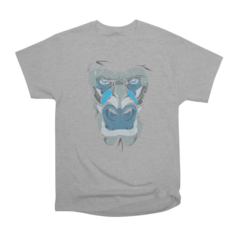 Hydro74 Old School Ape Men's Heavyweight T-Shirt by HYDRO74