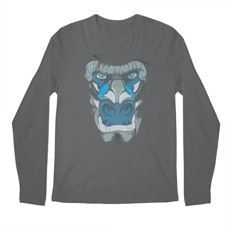 Hydro74 Old School Ape Men's Regular Longsleeve T-Shirt by HYDRO74