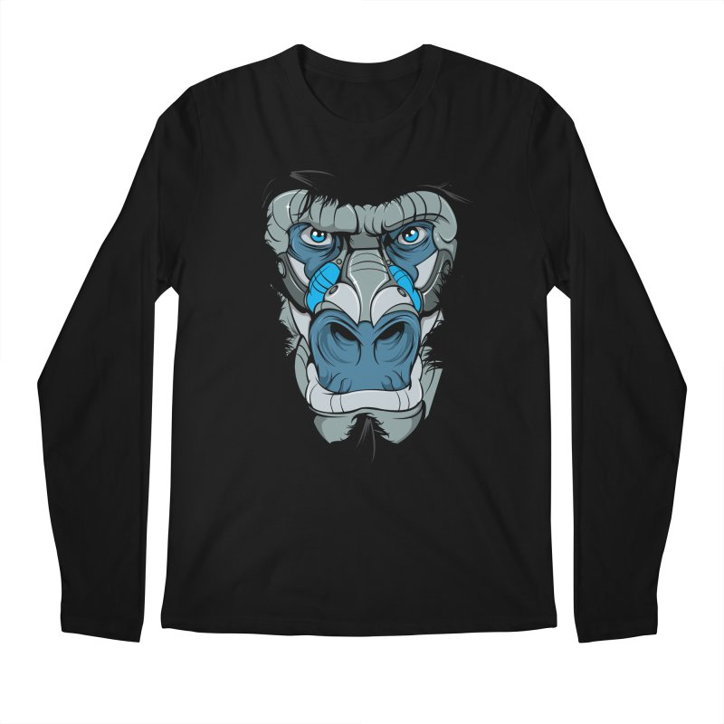 Hydro74 Old School Ape Men's Regular Longsleeve T-Shirt by HYDRO74