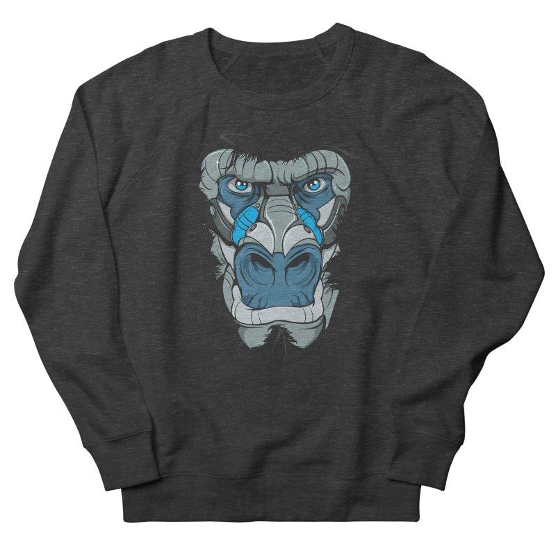 Hydro74 Old School Ape Men's French Terry Sweatshirt by HYDRO74