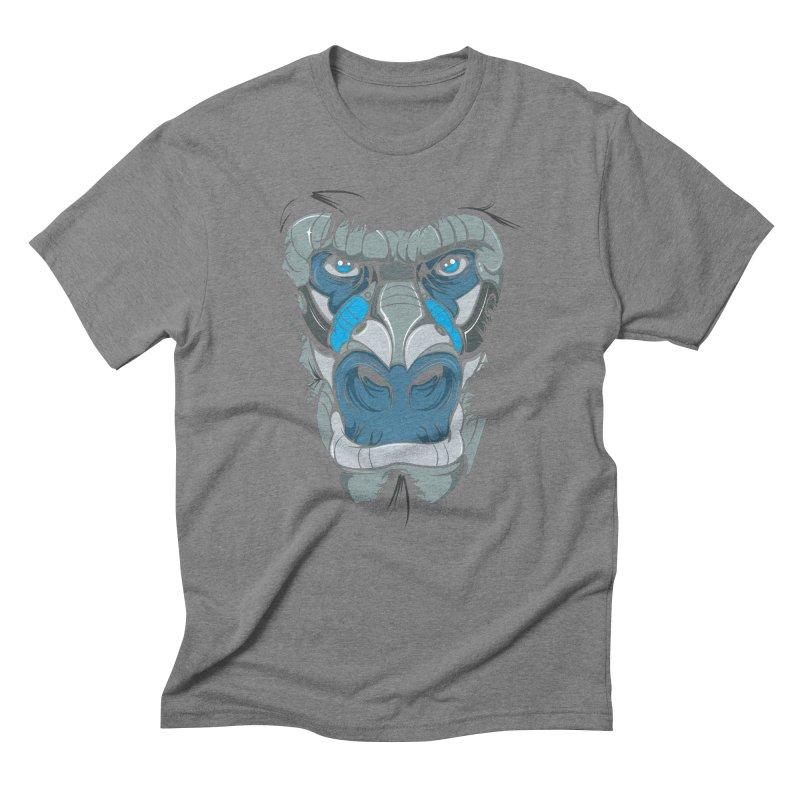 Hydro74 Old School Ape Men's Triblend T-Shirt by HYDRO74