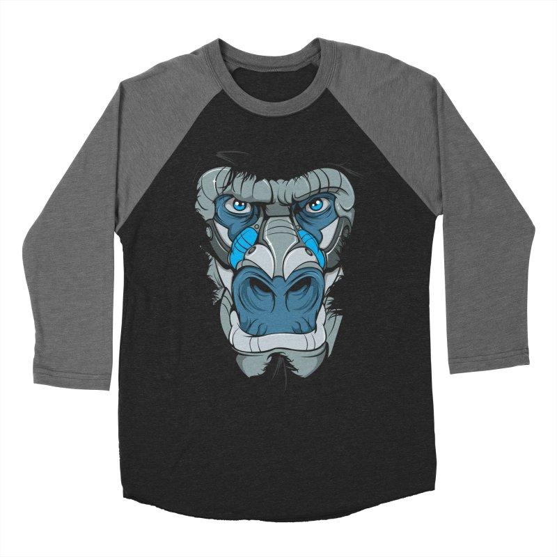 Hydro74 Old School Ape Women's Baseball Triblend Longsleeve T-Shirt by HYDRO74