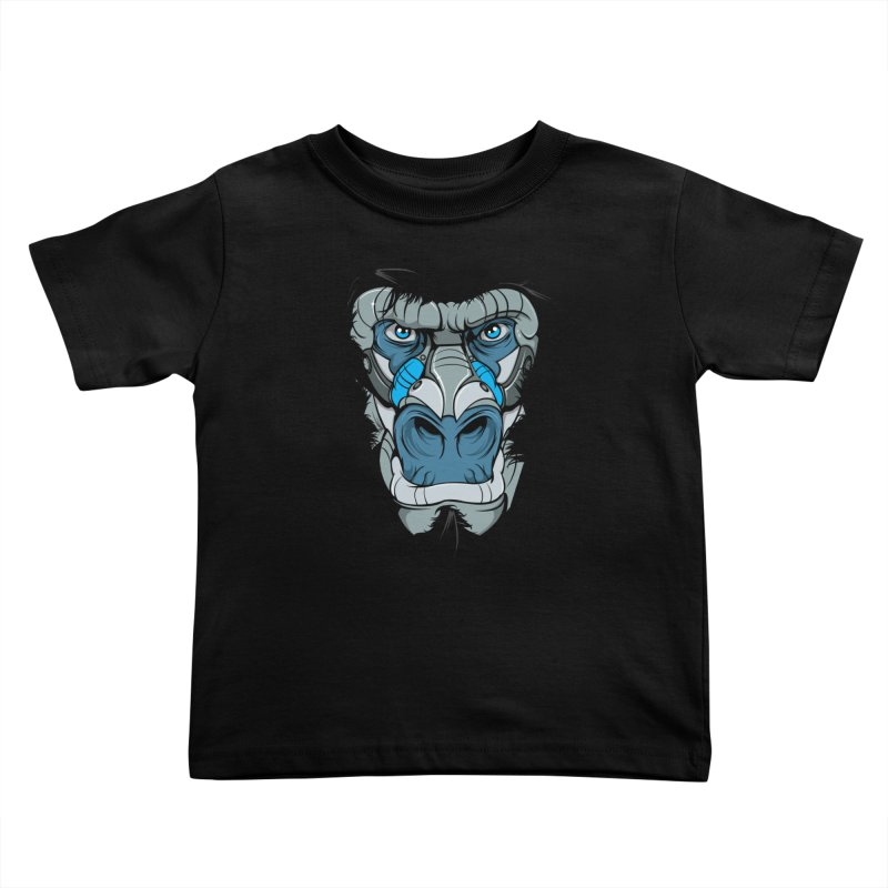 Hydro74 Old School Ape Kids Toddler T-Shirt by HYDRO74