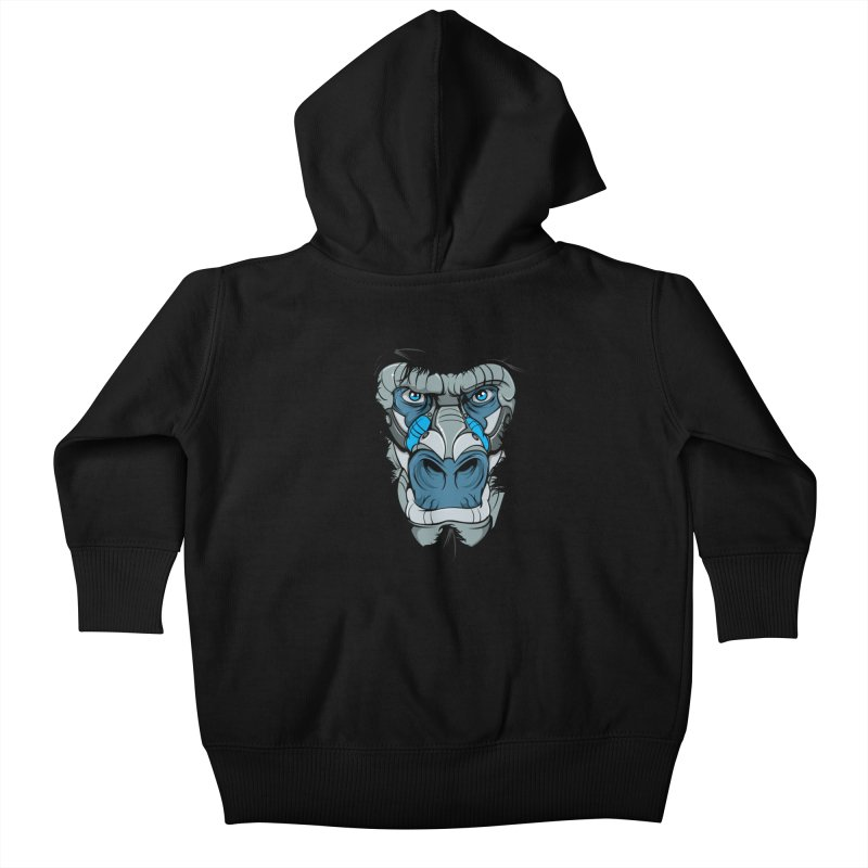 Hydro74 Old School Ape Kids Baby Zip-Up Hoody by HYDRO74
