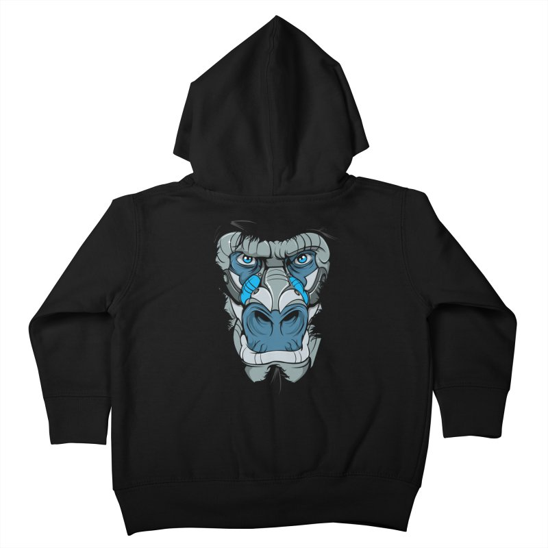 Hydro74 Old School Ape Kids Toddler Zip-Up Hoody by HYDRO74