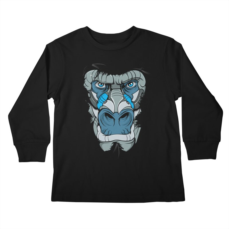 Hydro74 Old School Ape Kids Longsleeve T-Shirt by HYDRO74