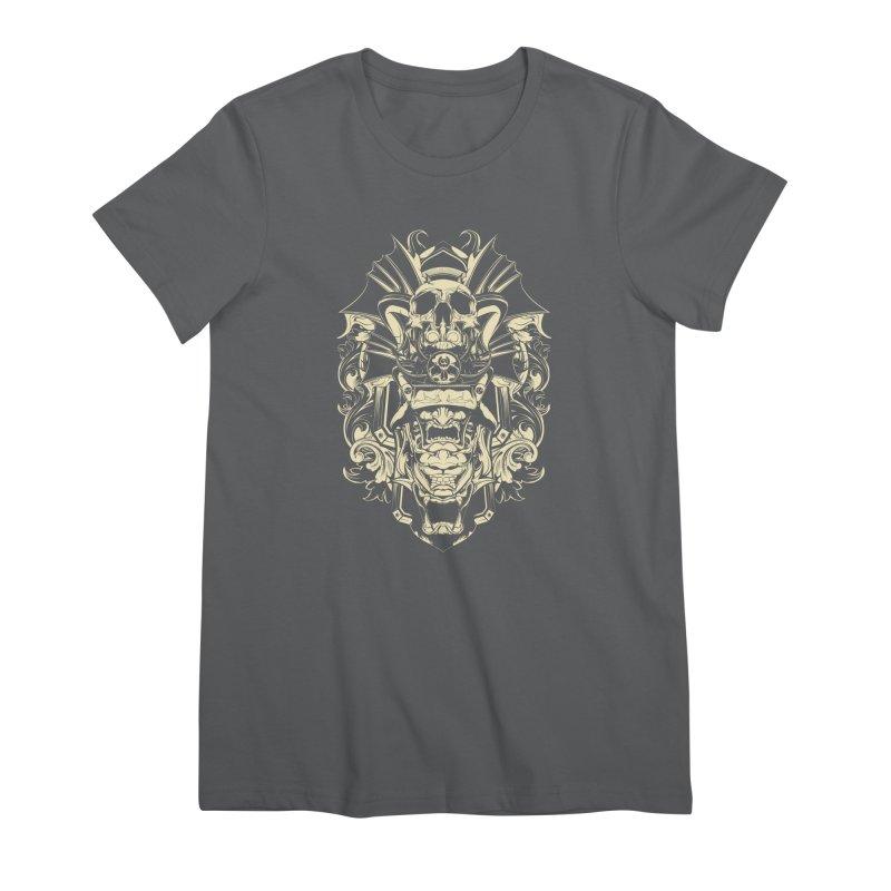 Hydro74 Old School Demon Women's Premium T-Shirt by HYDRO74