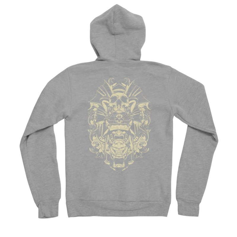 Hydro74 Old School Demon Women's Sponge Fleece Zip-Up Hoody by HYDRO74