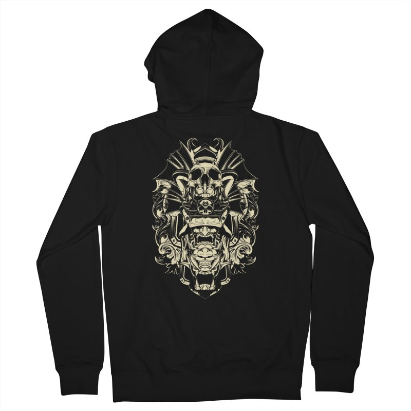 Hydro74 Old School Demon Men's Zip-Up Hoody by HYDRO74
