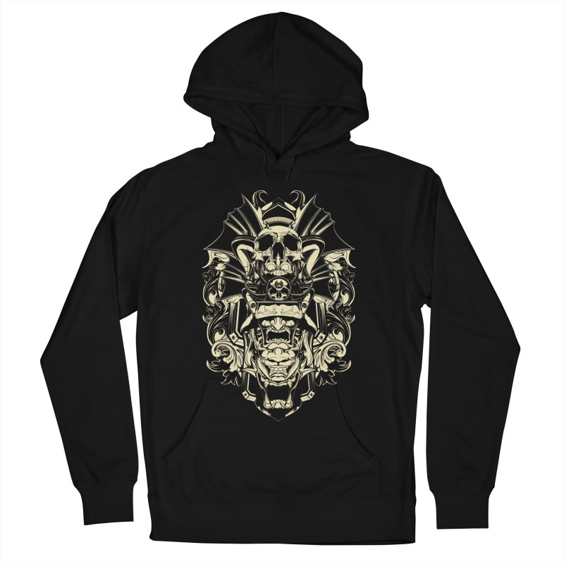 Hydro74 Old School Demon Men's French Terry Pullover Hoody by HYDRO74
