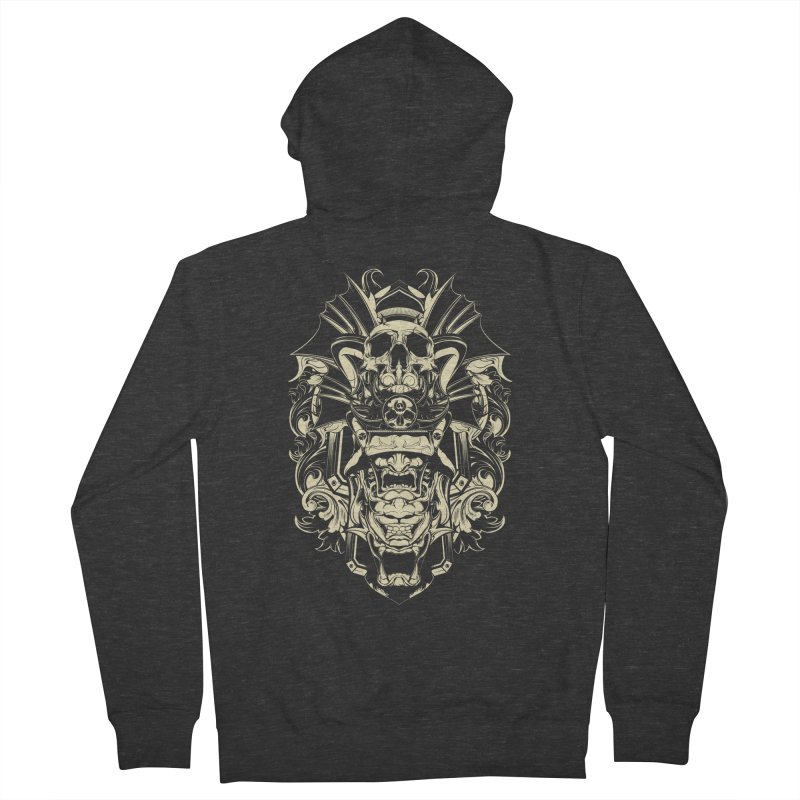 Hydro74 Old School Demon Women's French Terry Zip-Up Hoody by HYDRO74