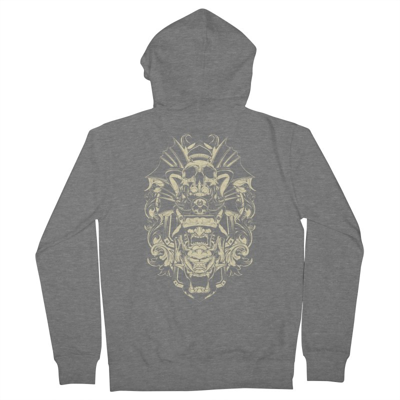 Hydro74 Old School Demon Men's French Terry Zip-Up Hoody by HYDRO74