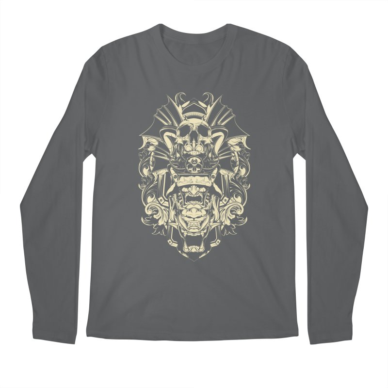 Hydro74 Old School Demon Men's Regular Longsleeve T-Shirt by HYDRO74