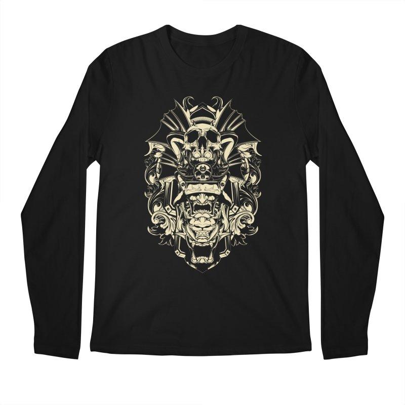 Hydro74 Old School Demon Men's Regular Longsleeve T-Shirt by HYDRO74