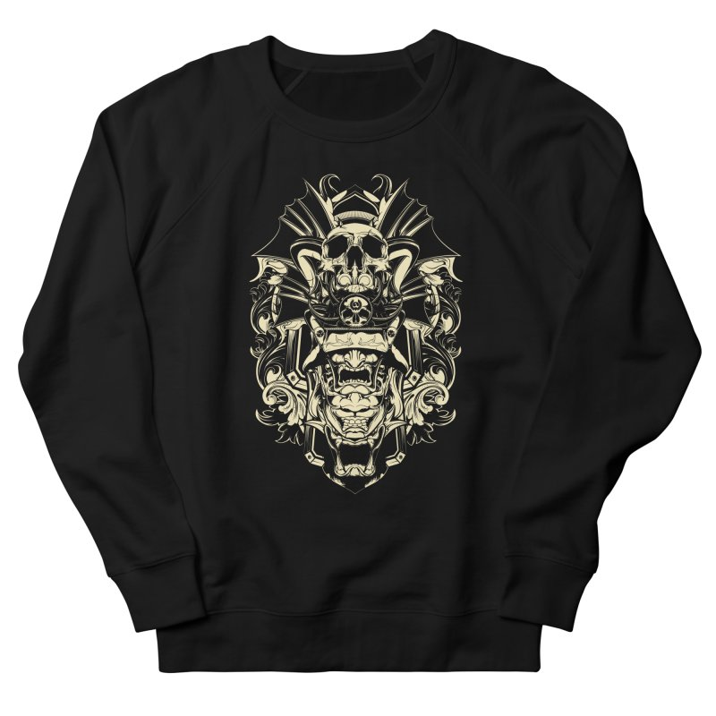 Hydro74 Old School Demon Women's French Terry Sweatshirt by HYDRO74