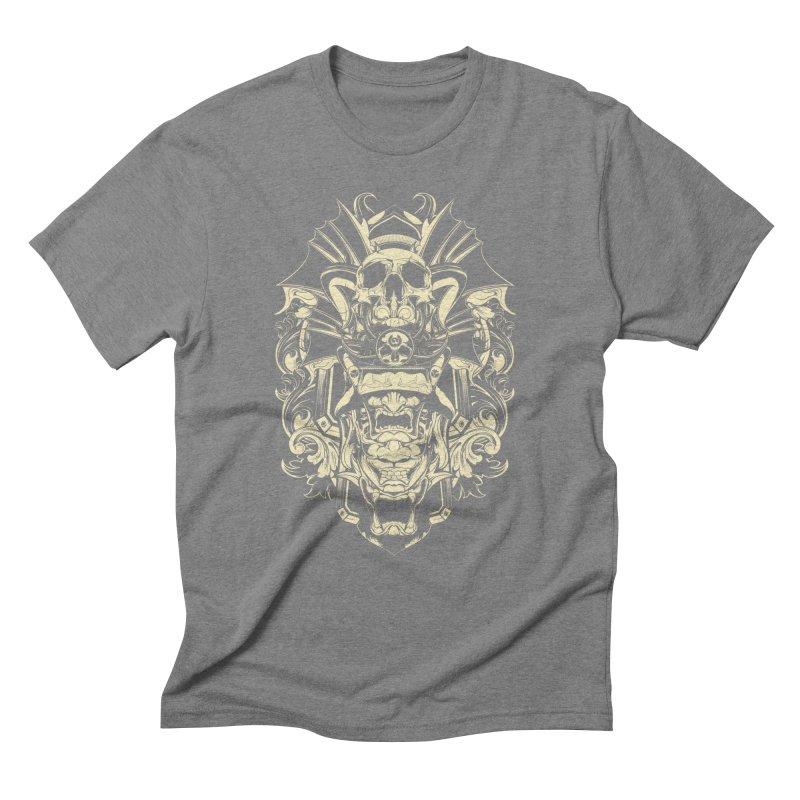 Hydro74 Old School Demon Men's Triblend T-Shirt by HYDRO74