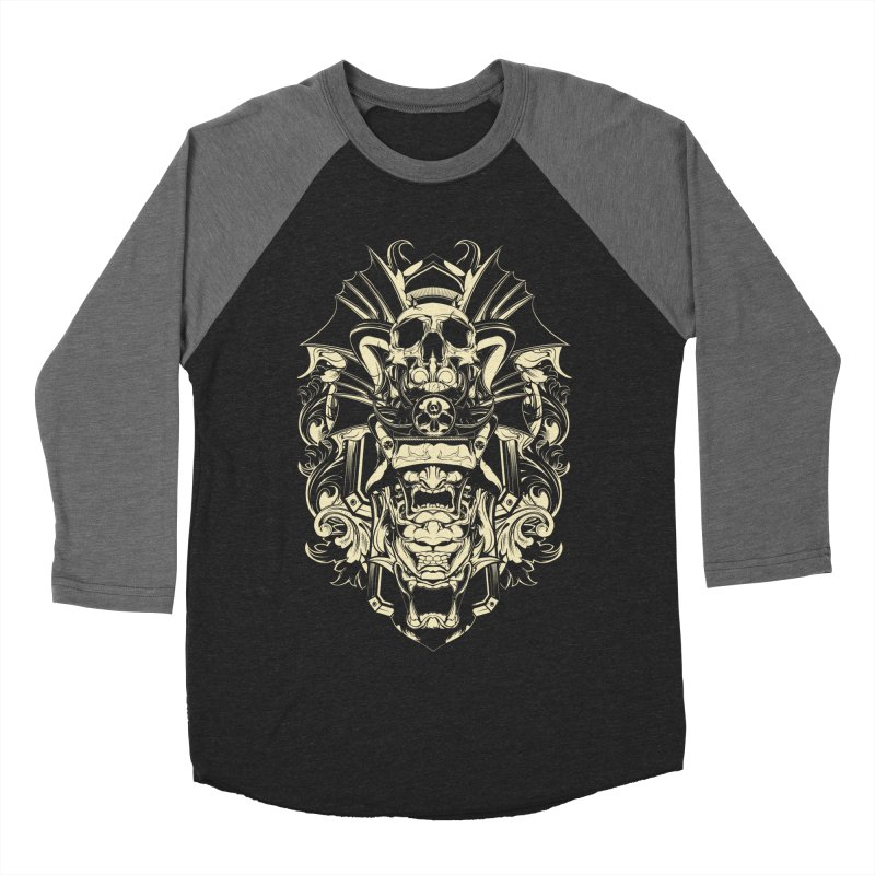 Hydro74 Old School Demon Women's Baseball Triblend Longsleeve T-Shirt by HYDRO74