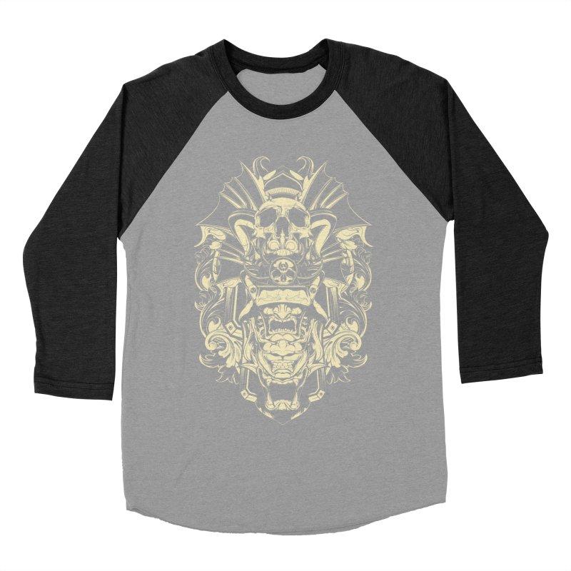 Hydro74 Old School Demon Women's Baseball Triblend Longsleeve T-Shirt by HYDRO74