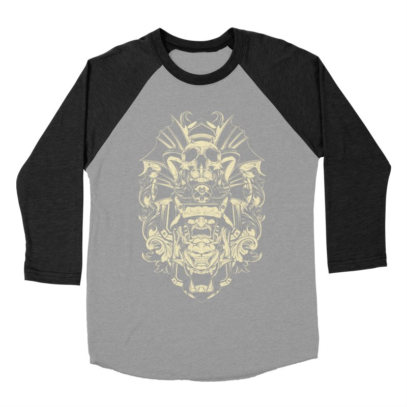 Hydro74 Old School Demon Men's Baseball Triblend Longsleeve T-Shirt by HYDRO74