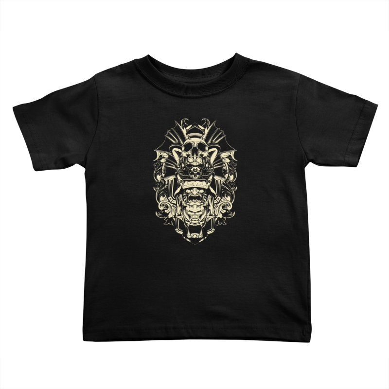 Hydro74 Old School Demon Kids Toddler T-Shirt by HYDRO74