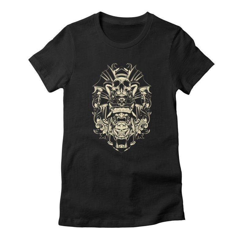 Hydro74 Old School Demon Women's T-Shirt by HYDRO74