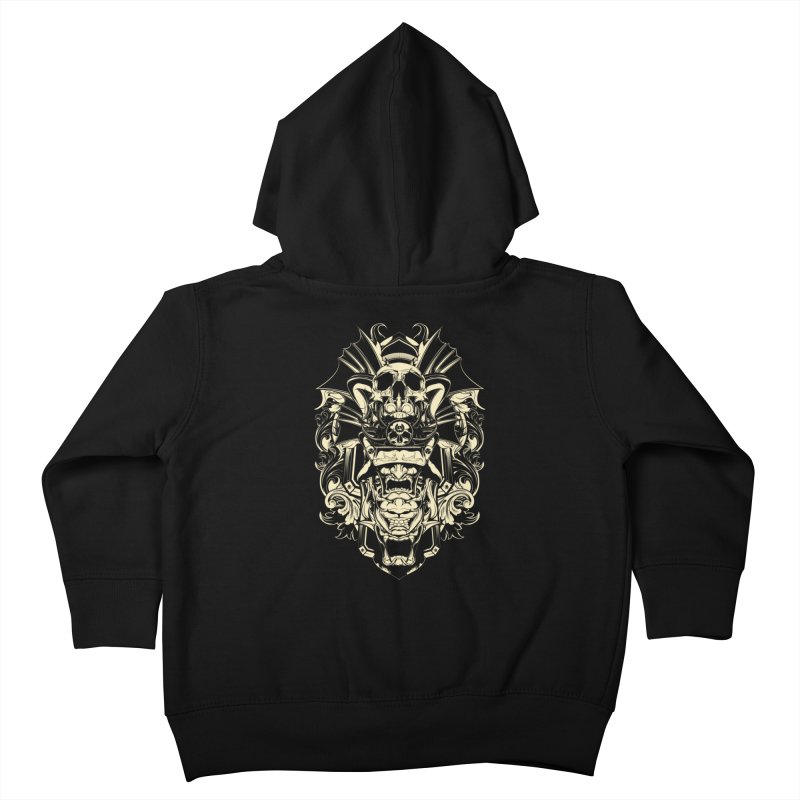Hydro74 Old School Demon Kids Toddler Zip-Up Hoody by HYDRO74
