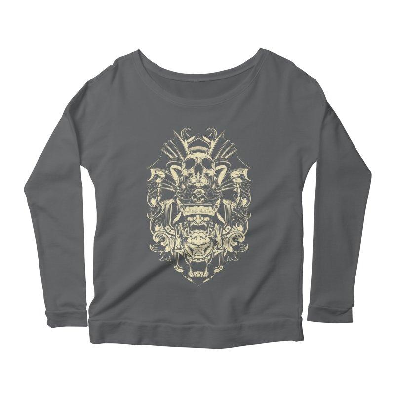 Hydro74 Old School Demon Women's Scoop Neck Longsleeve T-Shirt by HYDRO74