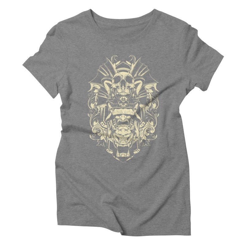 Hydro74 Old School Demon Women's Triblend T-Shirt by HYDRO74