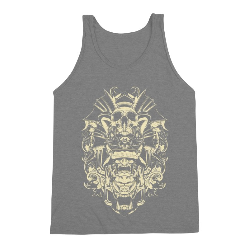 Hydro74 Old School Demon Men's Triblend Tank by HYDRO74