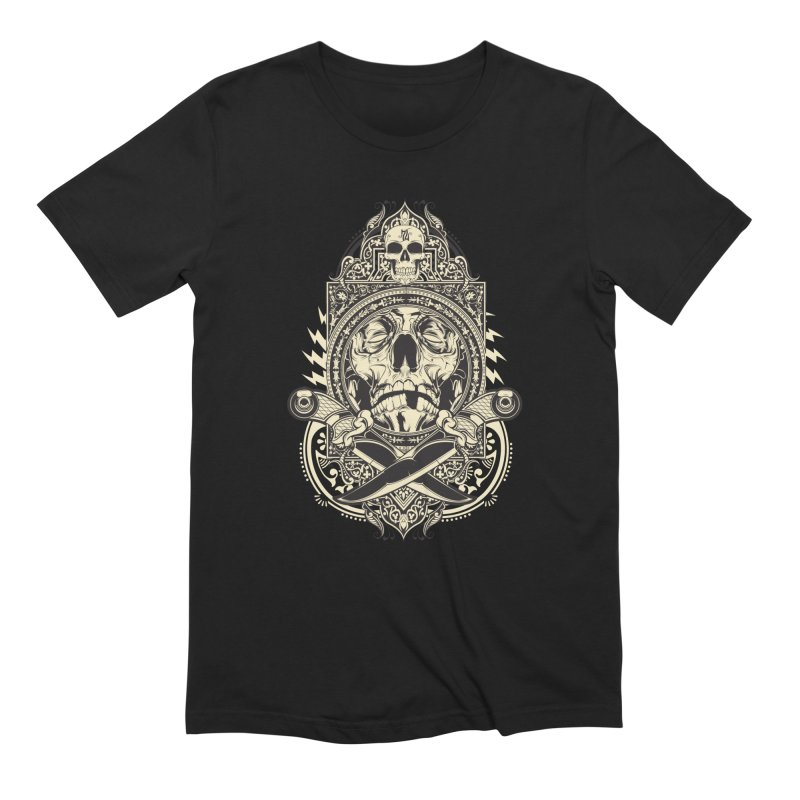Hydro74 Old School Deity in Men's Extra Soft T-Shirt Black by HYDRO74
