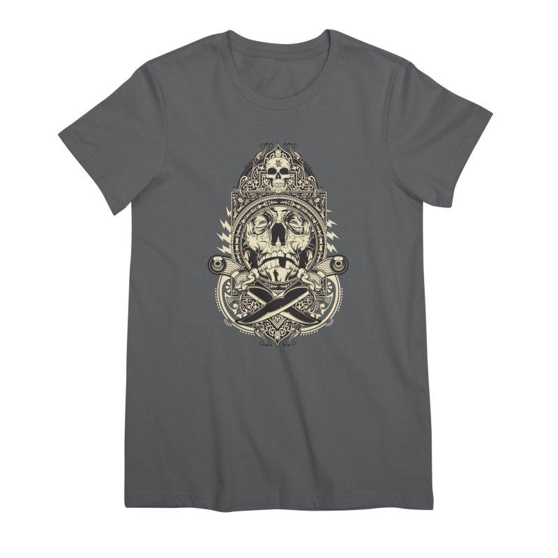 Hydro74 Old School Deity Women's Premium T-Shirt by HYDRO74