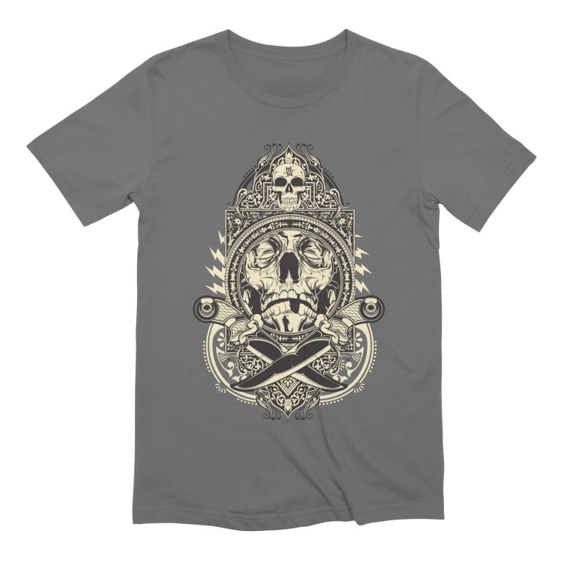 Hydro74 Old School Deity Men's Extra Soft T-Shirt by HYDRO74