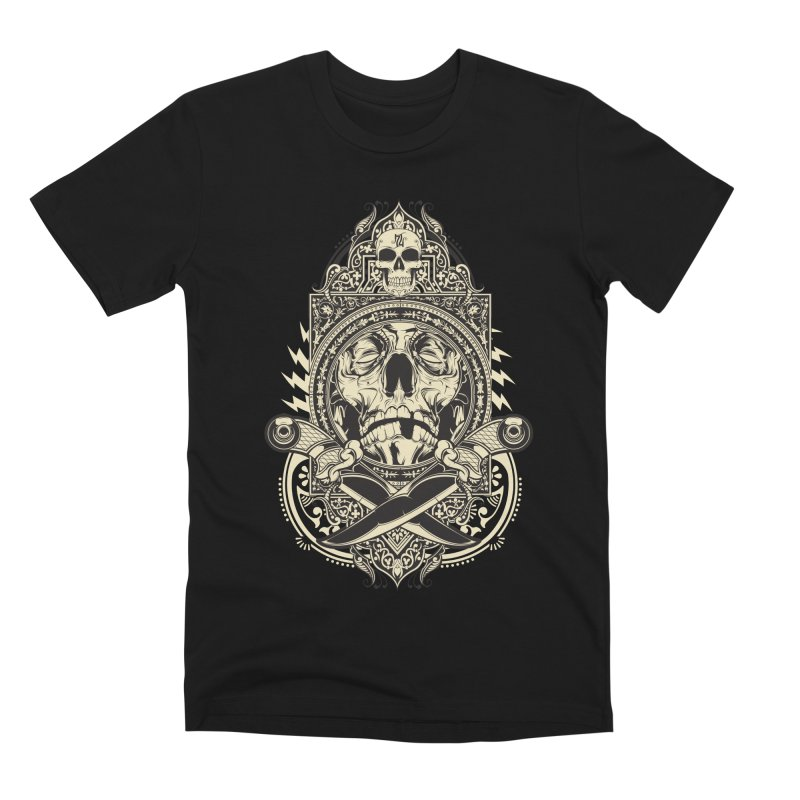 Hydro74 Old School Deity Men's Premium T-Shirt by HYDRO74