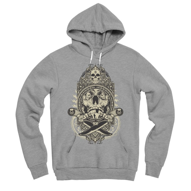 Hydro74 Old School Deity Women's Sponge Fleece Pullover Hoody by HYDRO74