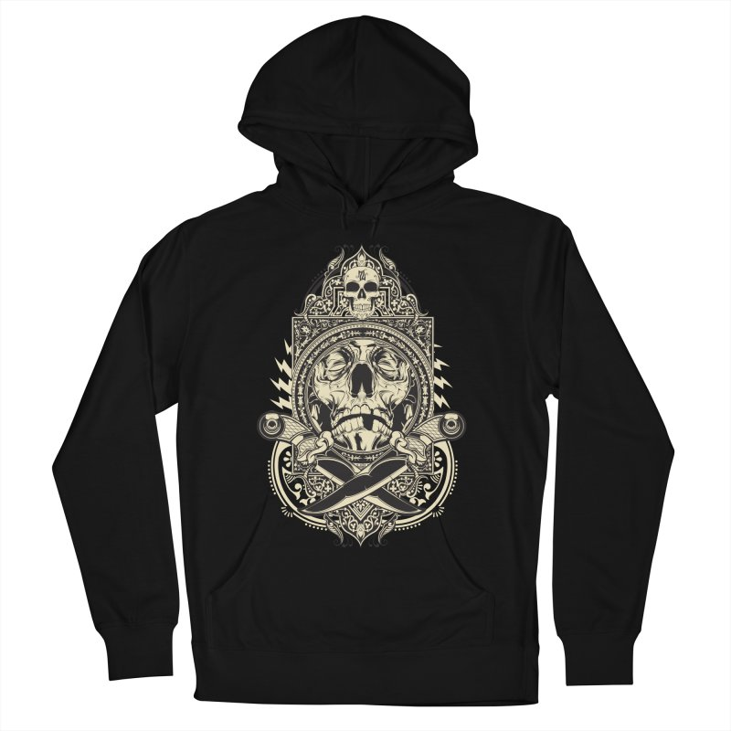 Hydro74 Old School Deity Women's French Terry Pullover Hoody by HYDRO74