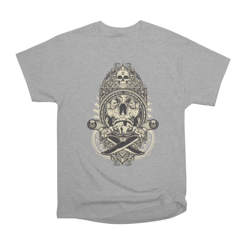 Hydro74 Old School Deity Women's Heavyweight Unisex T-Shirt by HYDRO74