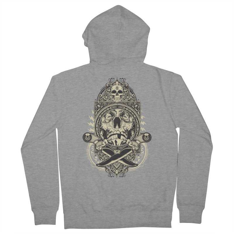 Hydro74 Old School Deity Men's French Terry Zip-Up Hoody by HYDRO74