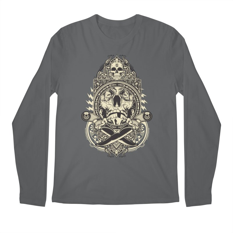 Hydro74 Old School Deity Men's Regular Longsleeve T-Shirt by HYDRO74