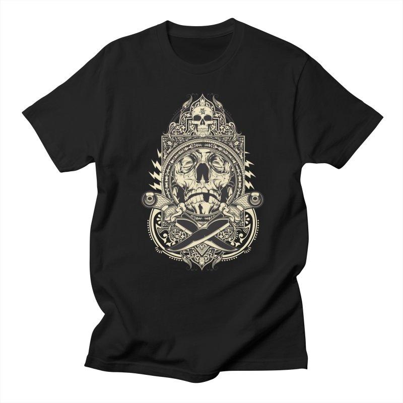 Hydro74 Old School Deity Men's Regular T-Shirt by HYDRO74