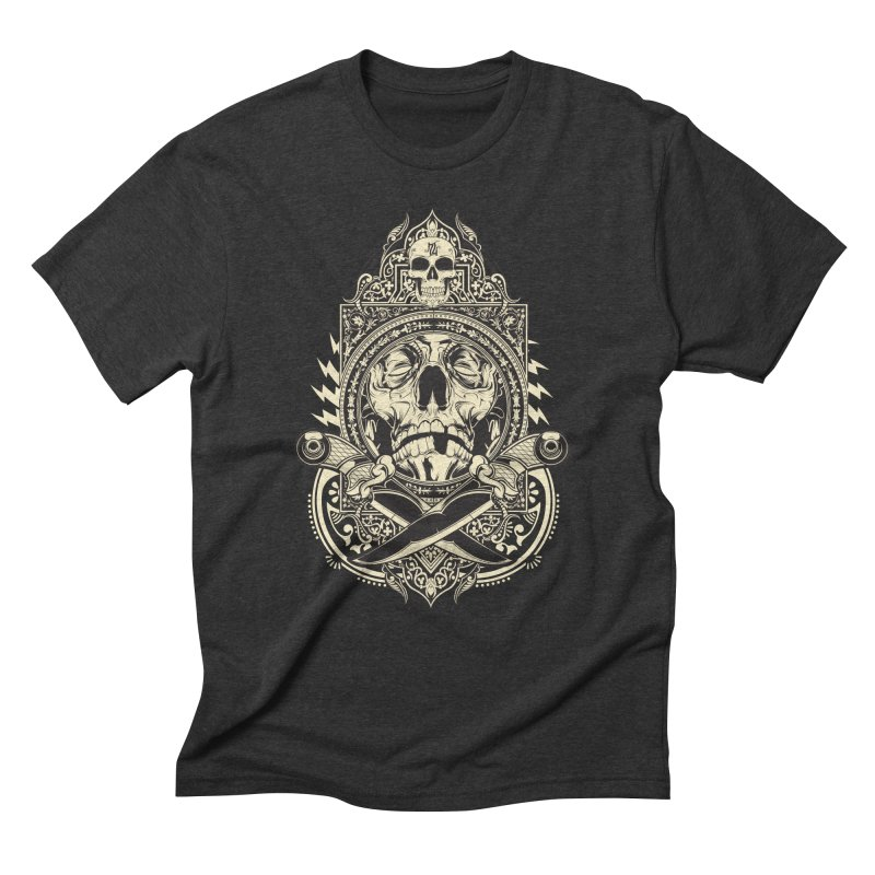 Hydro74 Old School Deity Men's Triblend T-Shirt by HYDRO74