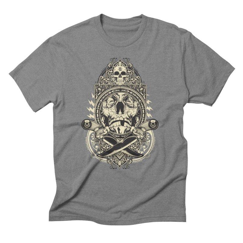 Hydro74 Old School Deity Men's Triblend T-Shirt by HYDRO74