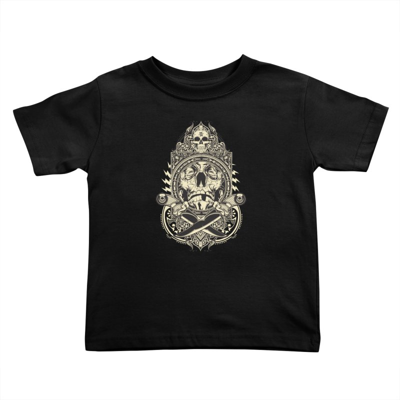 Hydro74 Old School Deity Kids Toddler T-Shirt by HYDRO74