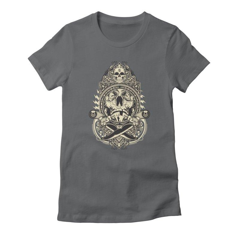 Hydro74 Old School Deity Women's T-Shirt by HYDRO74