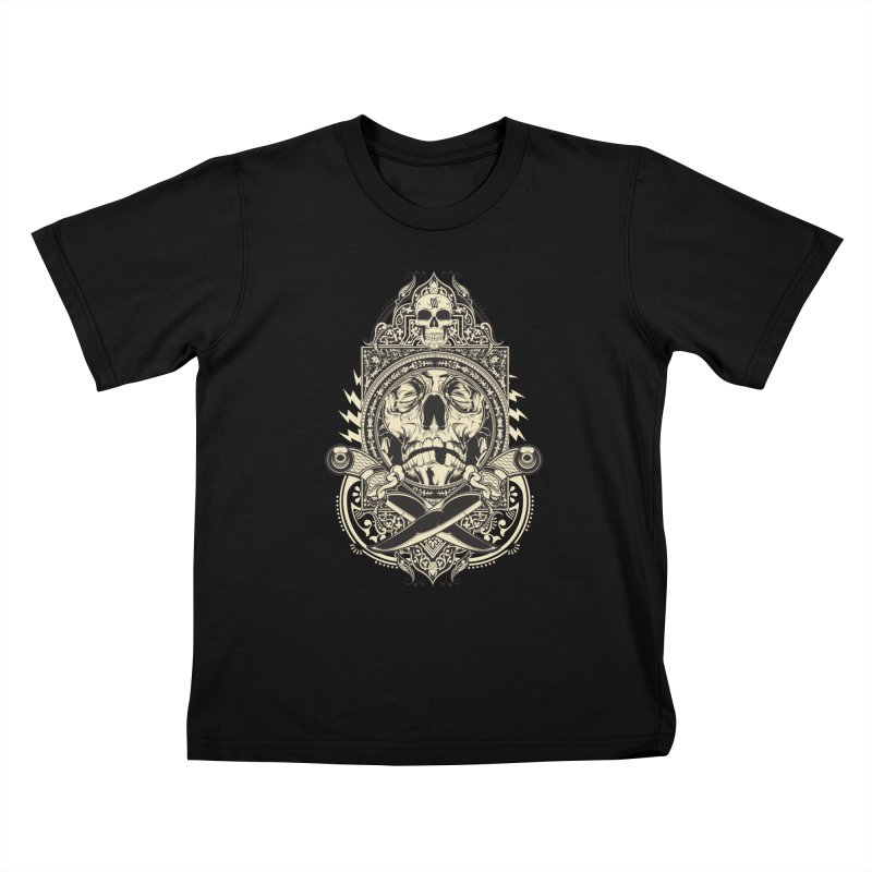 Hydro74 Old School Deity Kids T-Shirt by HYDRO74