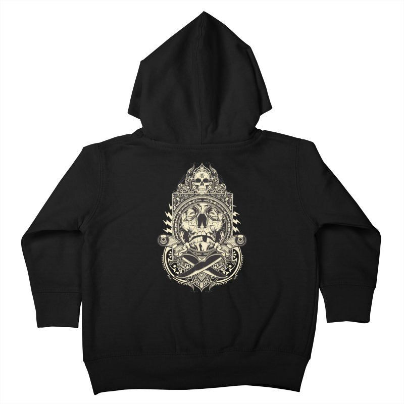 Hydro74 Old School Deity Kids Toddler Zip-Up Hoody by HYDRO74